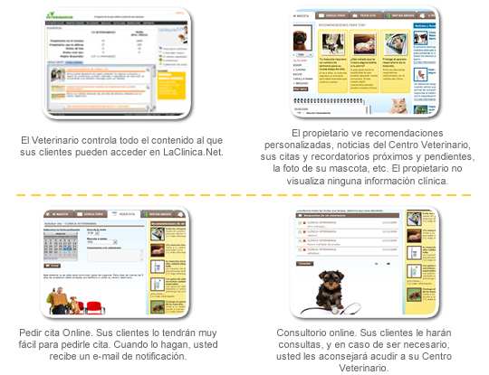El Software de veterinaria QVET incluye gratuitamente LaClinica.Net